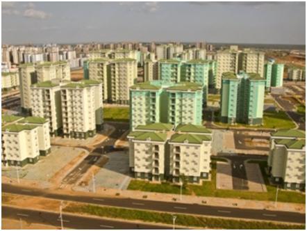 Cidade feita por chineses em Luanda tem tudo, menos pessoas. dans Politique